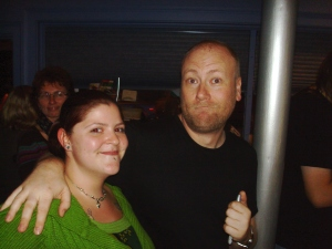 Me and Mike Doughty!